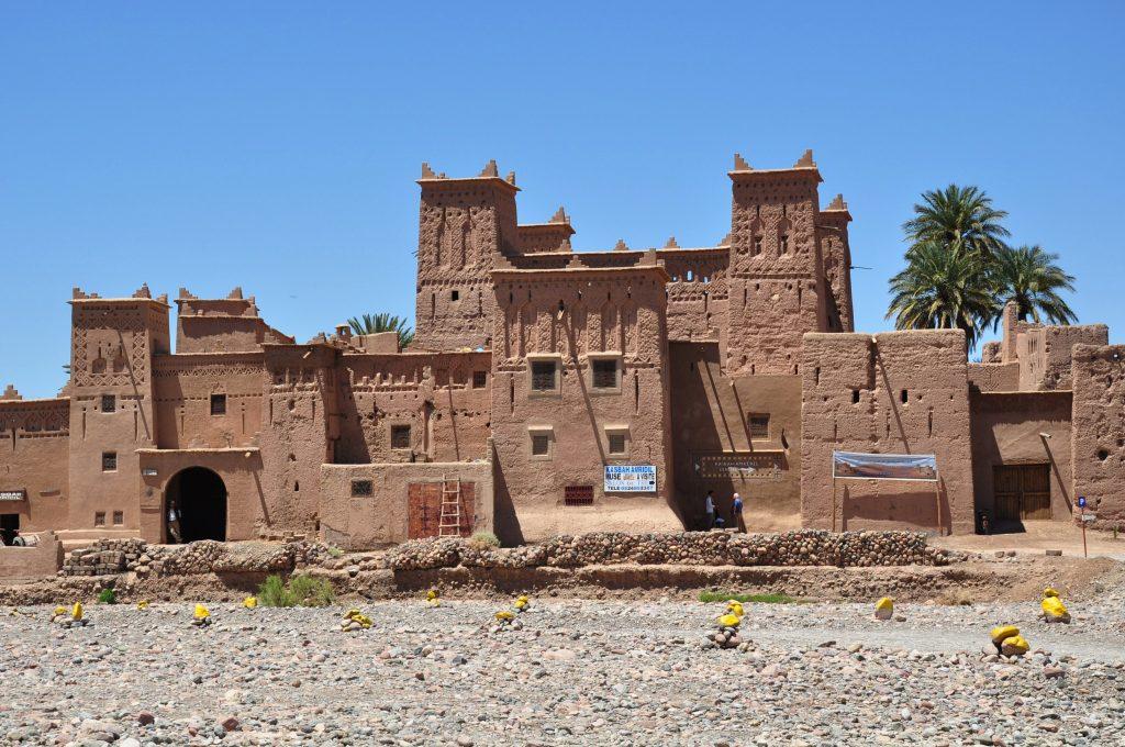 Cultura Marocco: la Kasbah di Amridil nelle vicinanze di Skoura.