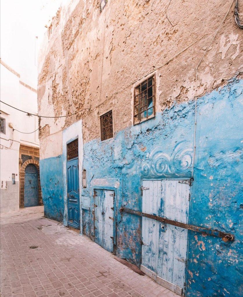 Cosa fare a Essaouira. Immagine dei decori nella Medina di Essaouira