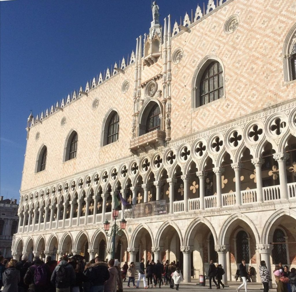 Vista su Piazza San Marco.