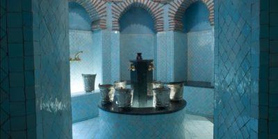 L'interno di un Hammam di lusso.