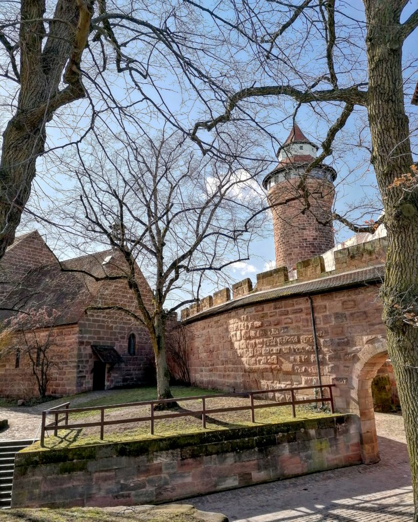 Cosa fare a Norimberga: l'interno del Castello di Norimberga.