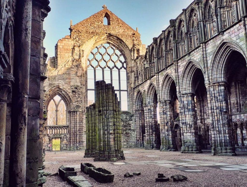 Edimburgo cosa vedere: Holyrood Church