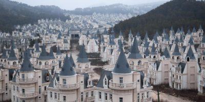 Vista dei tetti vuota Burj Al Baba in Turchia.