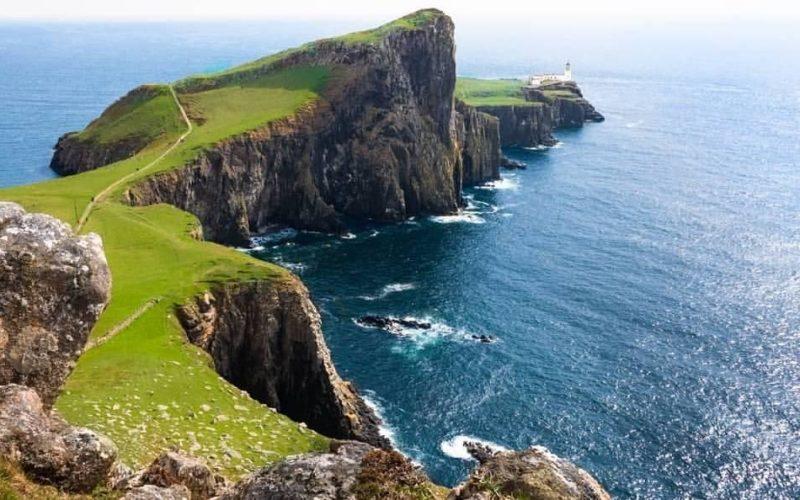 Il Nest Point è uno dei simboli icona dell'isola di Skye