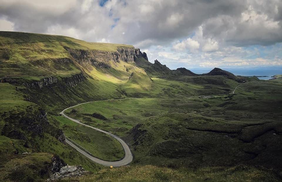 Il Quiraing uno dei simboli dell'isola di Skye.