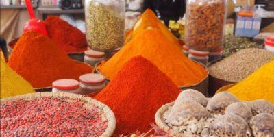 Spezie al mercato di Rissani