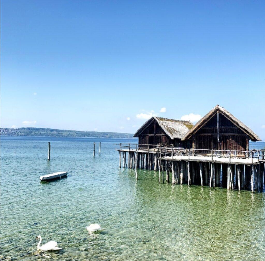 Le famose palafitte sul Lago di Costanza.