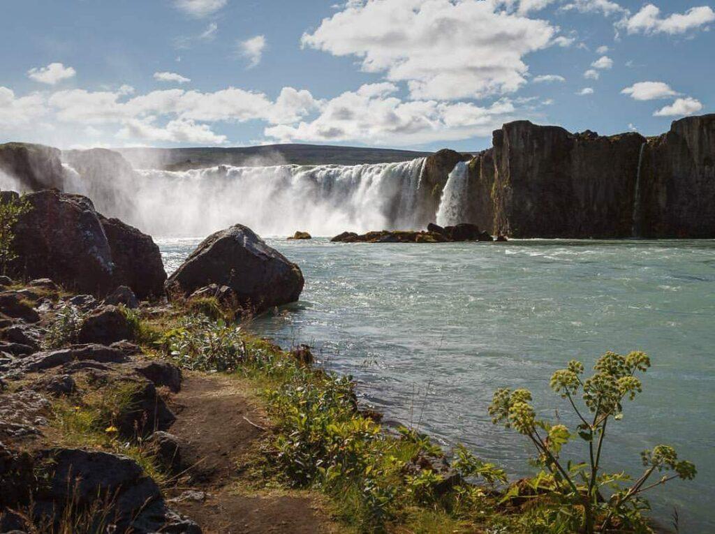 Cascate in Islanda: Goðafoss