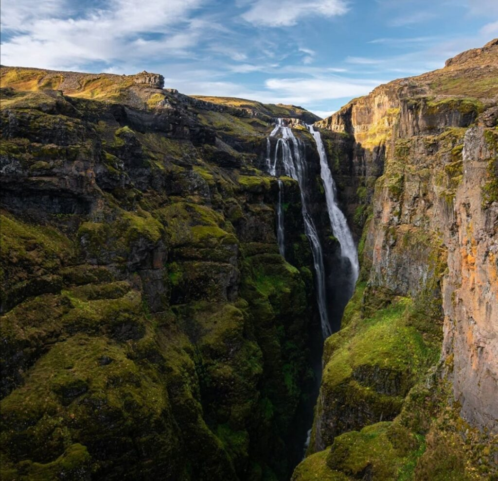 Cascate in Islanda: Glymurfoss