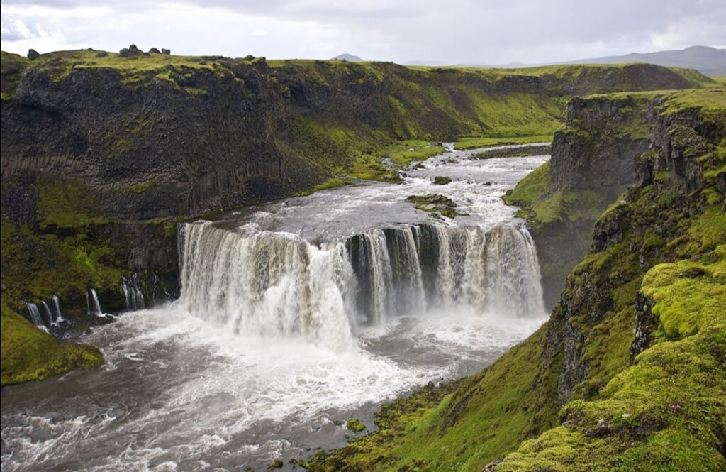 Cascata in Islanda: Axlafoss