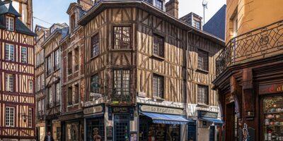 Rouen la capitale della Normandia