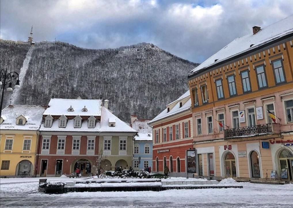 Piazza centrale di Brasov