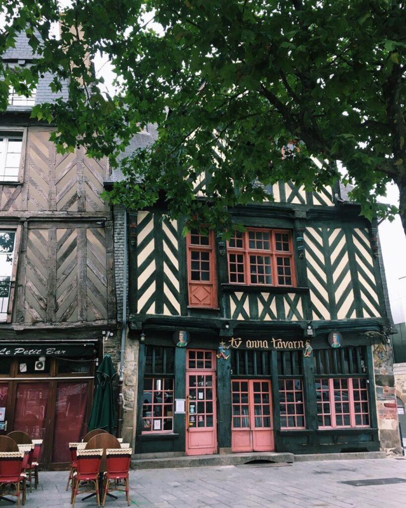 Le vecchie case a graticcio a Rennes, cosa non perdere
