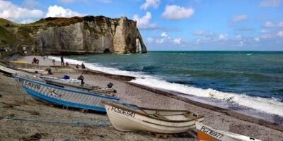 Normandia e Bretagna in Camper: Etretat