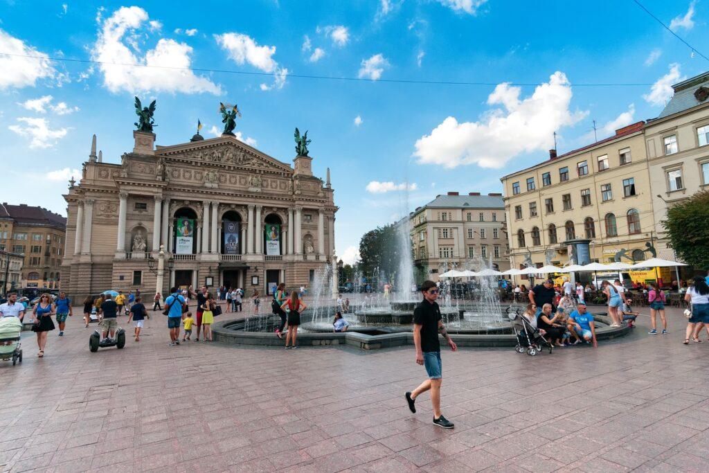 Città da visitare in europa: Lviv.