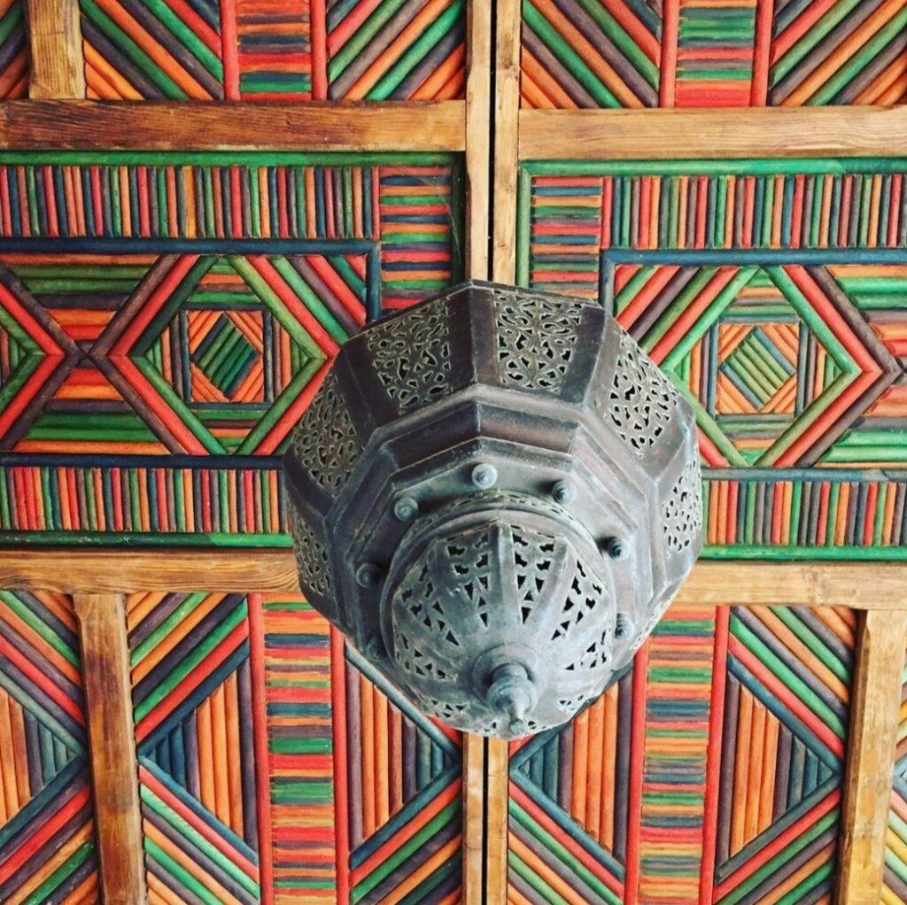 Soffitto in Agadir, Marocco.