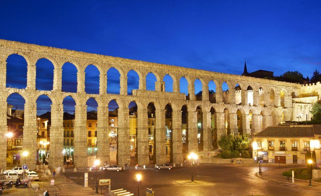 Città da visitare in europa: Segovia, Spagna.