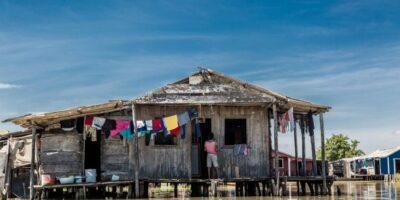 Nueva Venecia, la città di palude della Colombia.