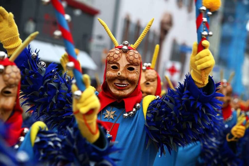 Folli al Carnevale Alemanno a Costanza.