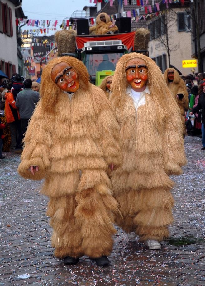 I Selvaggi al Carnevale Alemanno di Villingen.
