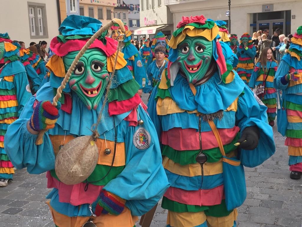 Folli al Carnevale Alemanno di Ravensburg.