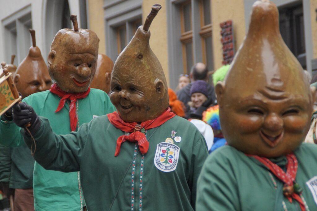 Carnevale Alemanno. Folli ispirati a perea Ravensburg.