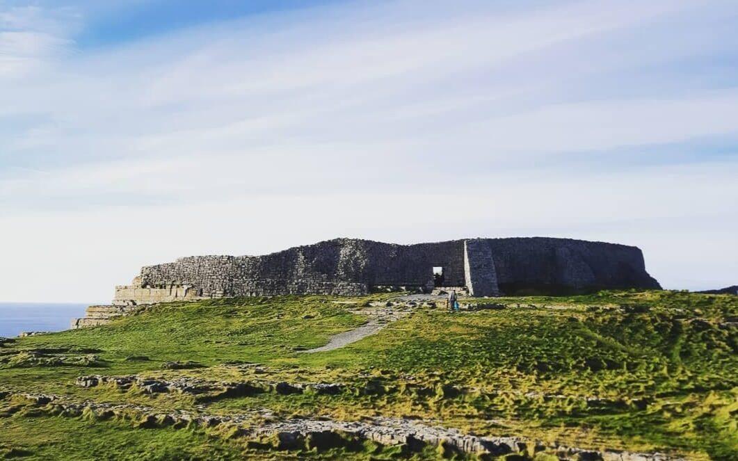 Dún Aonghasa, il sito più visitato delle isole Aran.