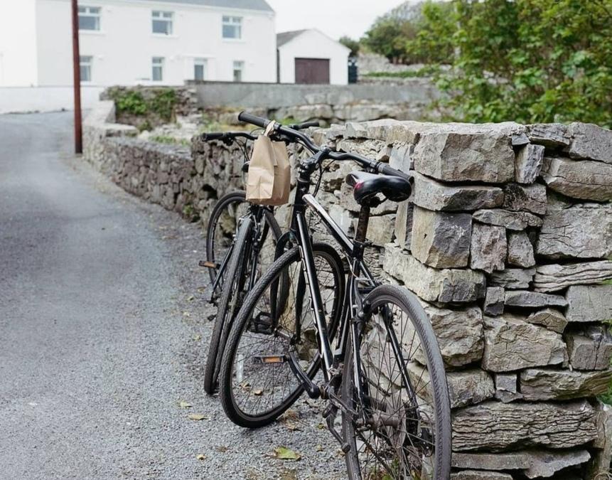 Le nostre biciclette affittate alle isole Aran.