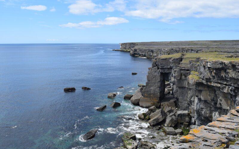 Le scogliere delle isole Aran.