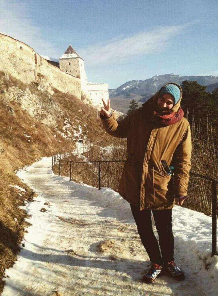 Cosa vedere in Transilvania: il giorno che visitammo Rasnov, c'erano -16C.