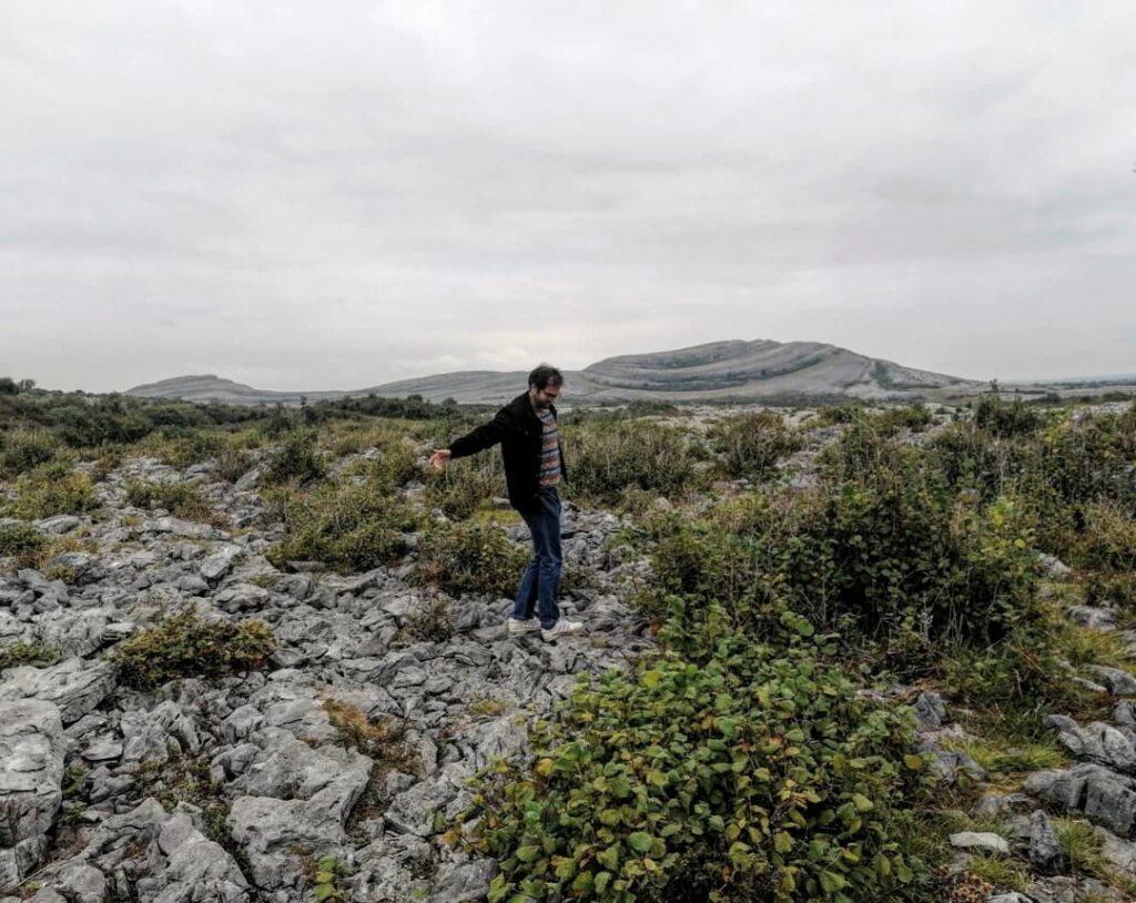 The Burren Irlanda: sullo sfondo il Mullaghmore